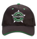 Hat - Classic Parts - Embroidered - Black/Green
