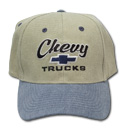 Hat-Chevy Trucks-Blue/Khaki