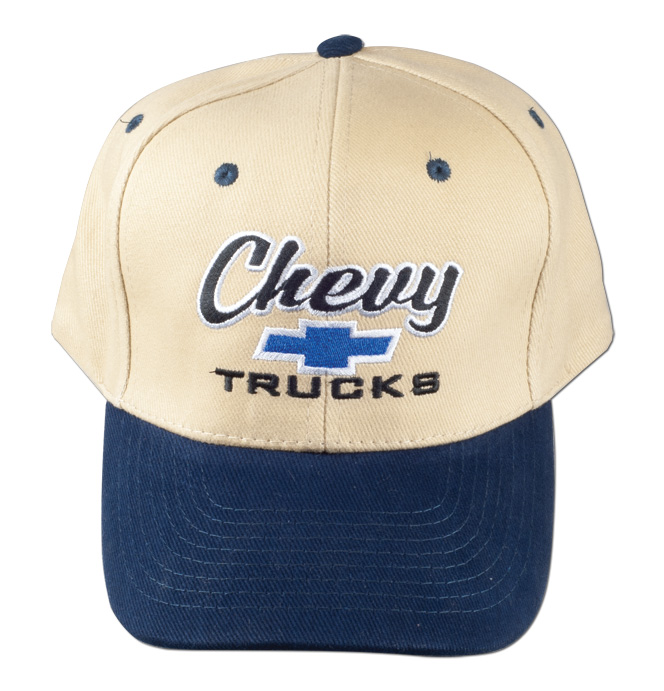 Hat-Chevy Trucks-Blue/Khaki