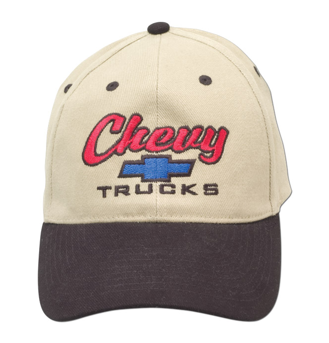 Hat-Chevy Trucks-Black/Khaki