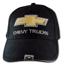 Hat-Chevy Trucks 2nd Design-Black