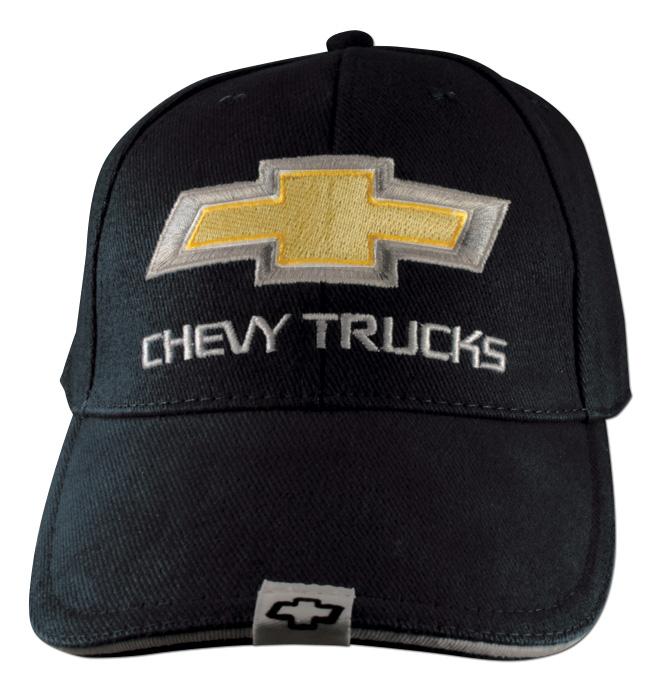 Hat Chevy Trucks 2nd Design Black