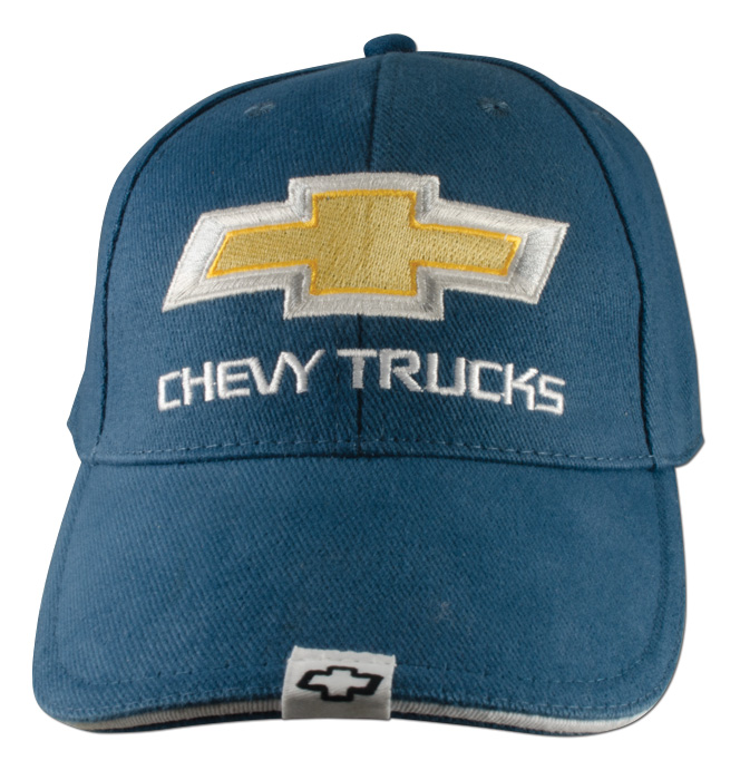 Hat-Chevy Trucks 2nd Design-Blue