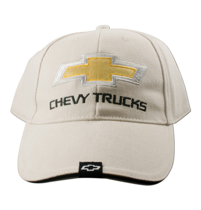 Hat-Chevy Trucks 2nd Design-Bone