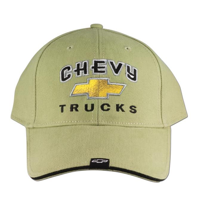 Hat-Chevy Trucks 2nd Design-Green