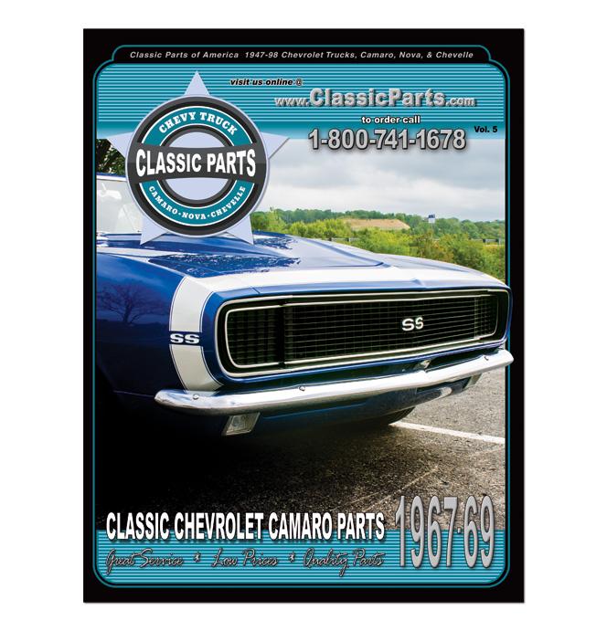 1967-1969 classic Camaro car parts catalog
