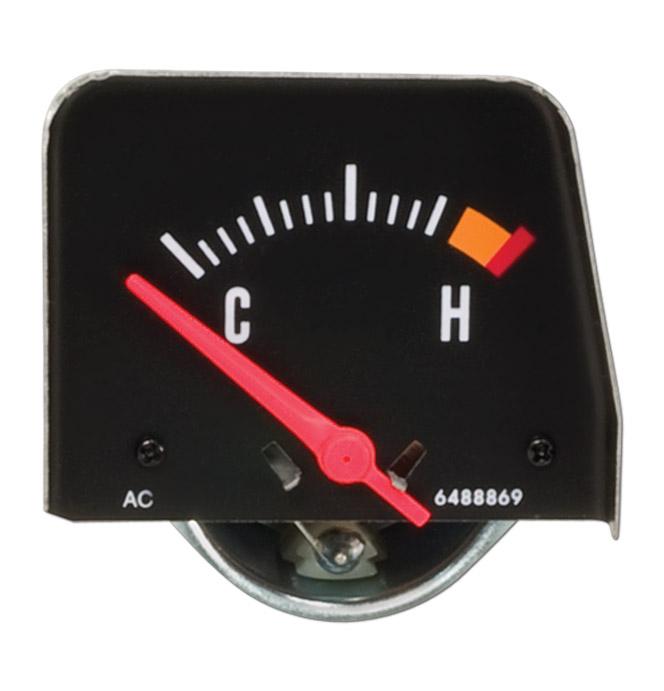 1968-72 Black Console Temperature Gauge