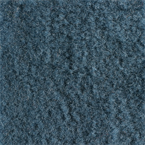 (1981-91)  Carpet-CrewCab-Large Hump-Blue-Cut Pile