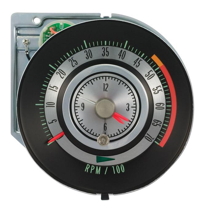 tic toc tachometer w 5000 rpm redline classic chevy truck parts