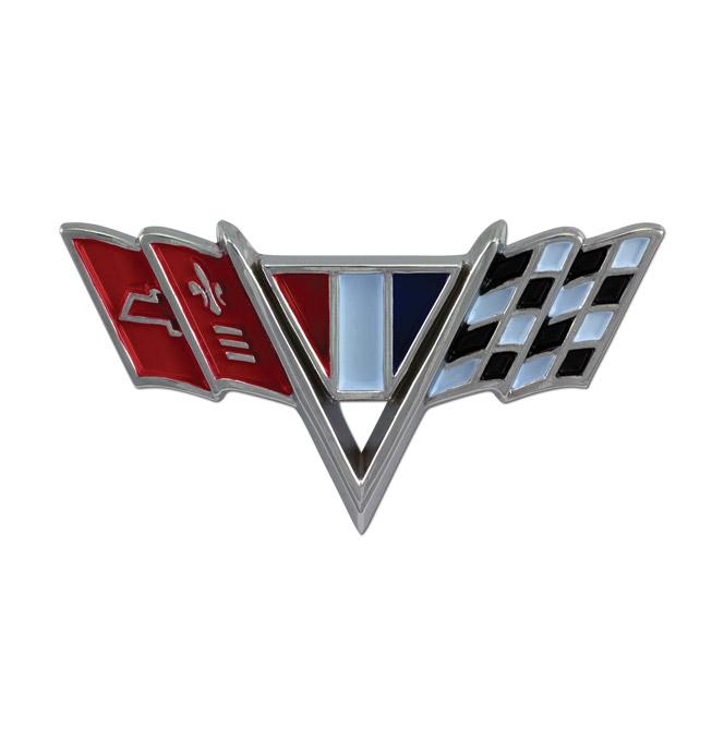 Fender Emblem-V-Flag-pr-Classic Chevy Truck Parts