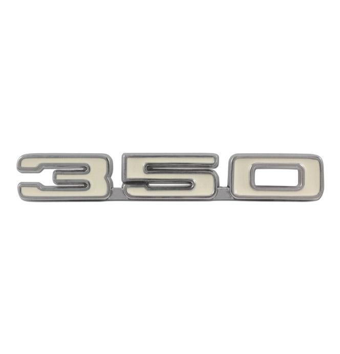 Fender Emblem-Engine Size-350-pr-Classic Chevy Truck Parts