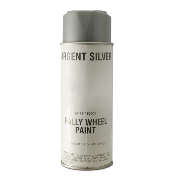 (1967-98)  Silver Rally Wheel Paint