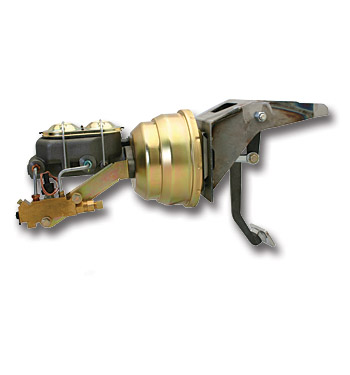 (1955-59) Firewall Mount Power Brake Booster-Disc/Drum