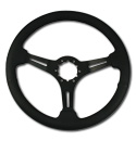 (1941-94)  Steering Wheel-Black Leather-Black Matte