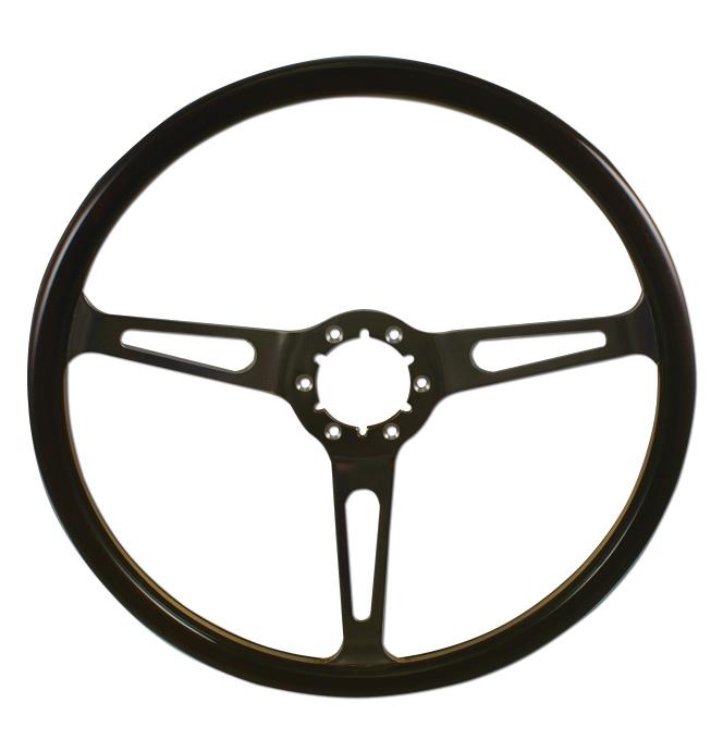 (1941-94)  Steering Wheel-Wood-Polished Dark
