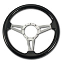 (1941-94)  Steering Wheel-Wood Black Ash-Polished
