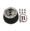 (1960-72)  Steering Wheel Hub Adapter-Black 6 Bolt