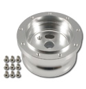 (1941-94)  Steering Wheel Hub Adapter-Billet 9 Bolt