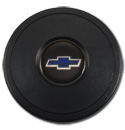 (1941-94)  Steering Wheel Horn Cap Blue Bowtie 9 Bolt