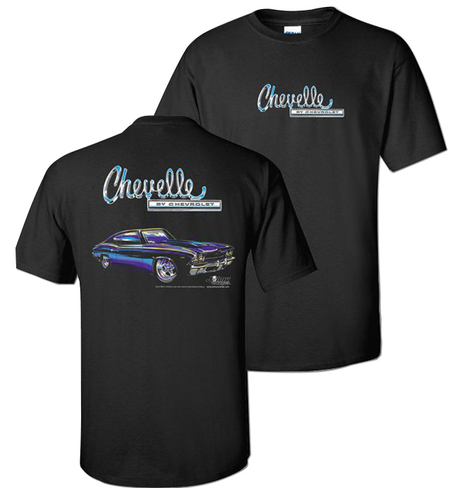 1968-69) T-Shirt - Cool Auto Chevelle-Classic Chevy Truck Parts