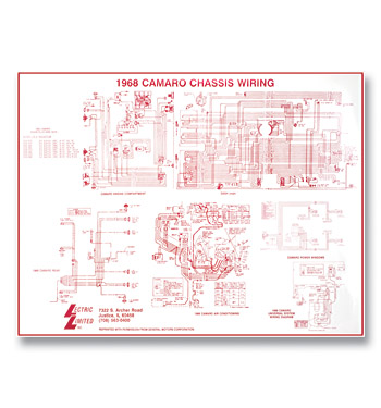 1968 Camaro Wiring Harness Diagram - Wiring Source •