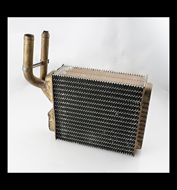 (1960-63) NOS Heater Core W/ Recirc.