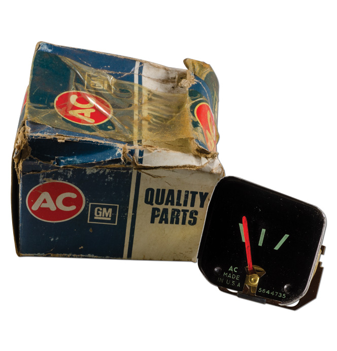 (1964-66) NOS Fuel Gauge W/Gauges