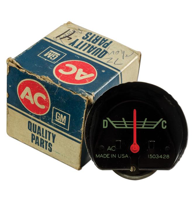 (1967-72) NOS Ammeter Gauge