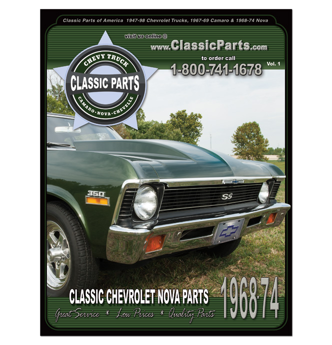 68-74 Nova Parts Catalog-Classic Chevy Truck Parts