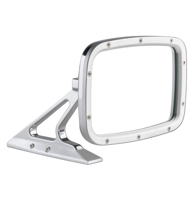 (1947-98)  Outside Mirror Assembly-Rectanglular Matte ea.