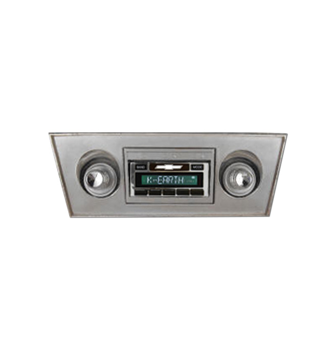 Custom Auto Sound AM/FM Radio-630-Classic Chevy Truck Parts