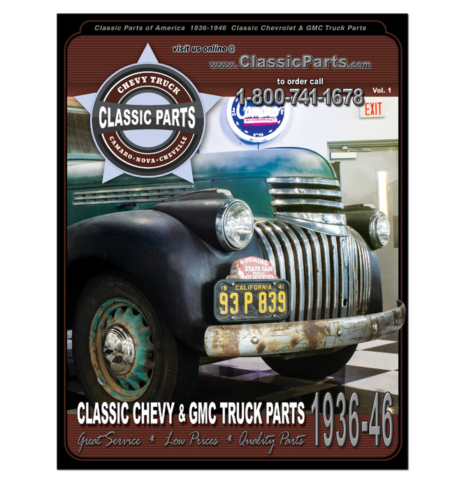 1936-46 Chevy Truck Parts Catalog