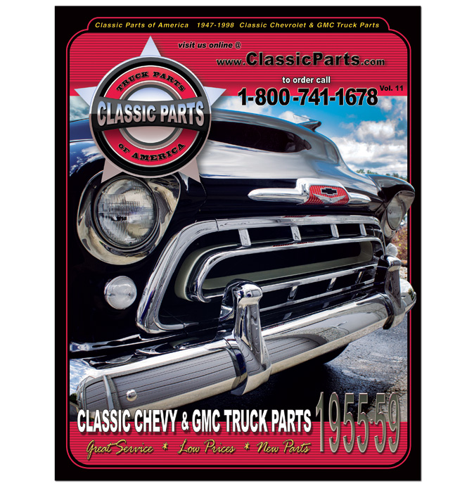 55 59 Chevy Truck Clic Parts