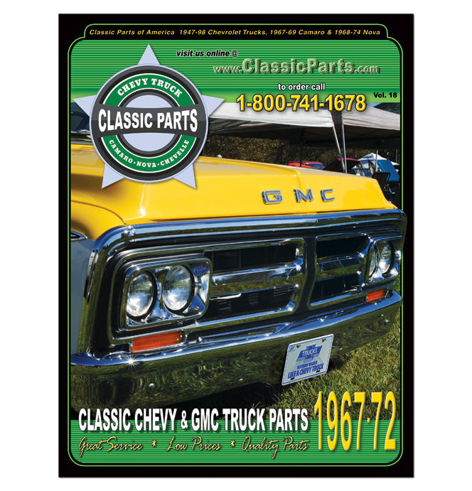 Chevy Truck Parts Catalog >> 67 72 Chevy Truck Catalog Classic Chevy Truck Parts