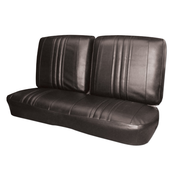Seat Cover Bench Black Classic Chevy Truck Parts